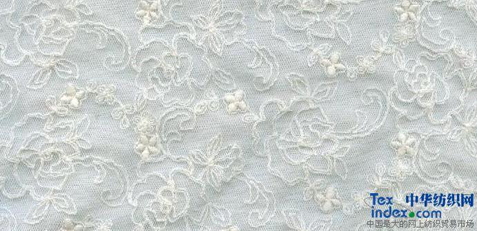 网布刺绣花边