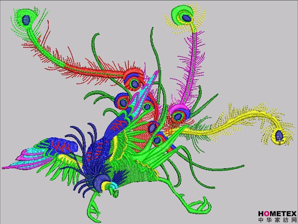 电脑绣花制版