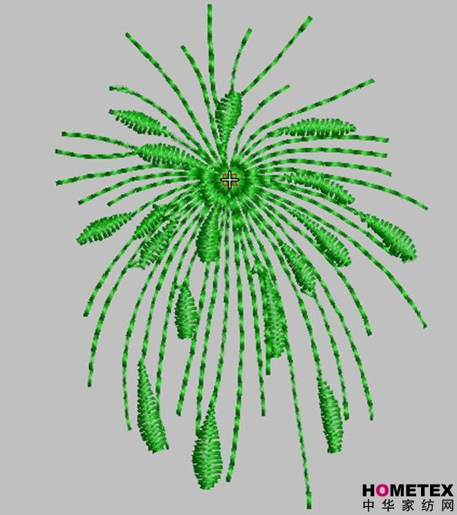 刺绣的25种针法图解-电脑绣花制版
