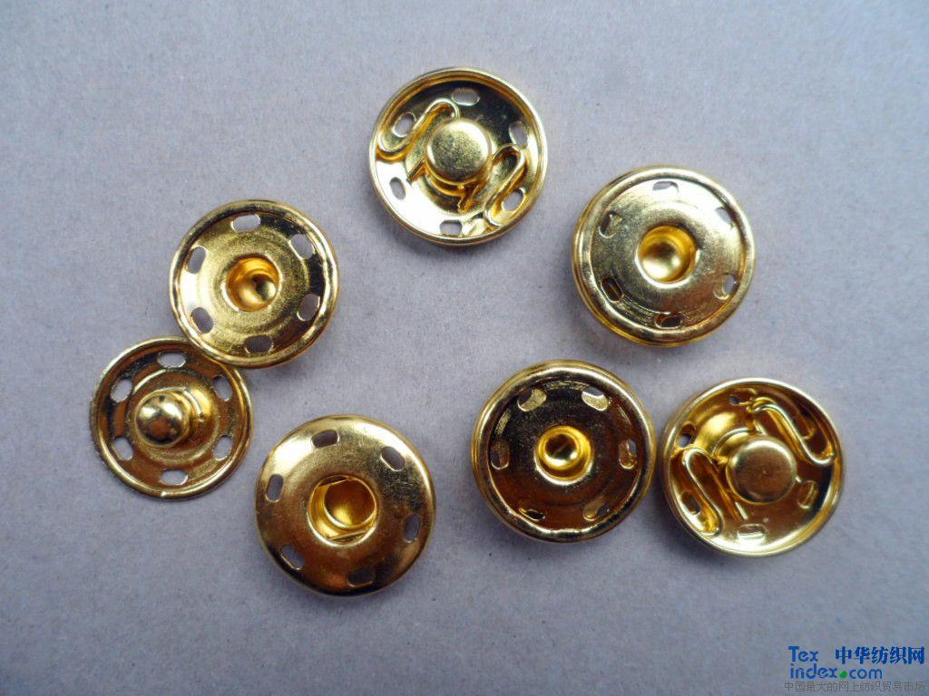 服装辅料厂是一家生产加工各种结构性金属钮扣制品,工字扣,啪钮(按扣)