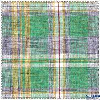 竹节格子色织布