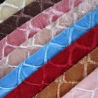 拉舍尔毛毯包边布