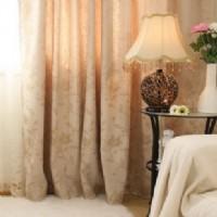提花遮光窗帘布