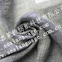 全麻色织布