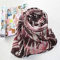 涤纶小提花、乱纹围巾