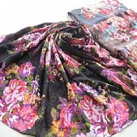 涤纶巴厘纱围巾