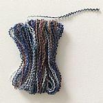 三色波纹纱