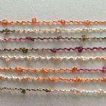 人造丝圈圈纱