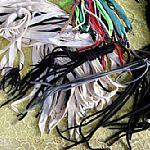 各种绳带金属头