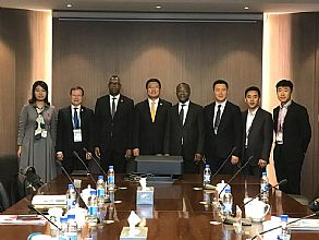 进博会现场,中纺联受邀与非洲棉花四国高层代表畅谈中非纺织业领域合作机遇