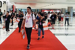 現場 : 眾企齊聚杭州,新品爭奇斗艷!2019杭州國際紡織服裝供應鏈博覽會盛大開幕