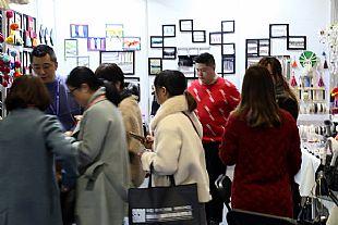 杭州紡博會第二天,人氣火熱,展商應接不暇