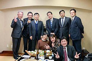 已展千重锦再进百尺竿--孚日集团董事长孙日贵先生新年出访东瀛,与日本合作伙伴洽谈合作